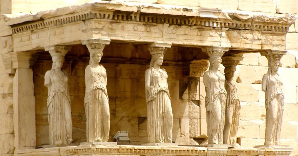 Erechtheum Acropolis, Athens, Greece