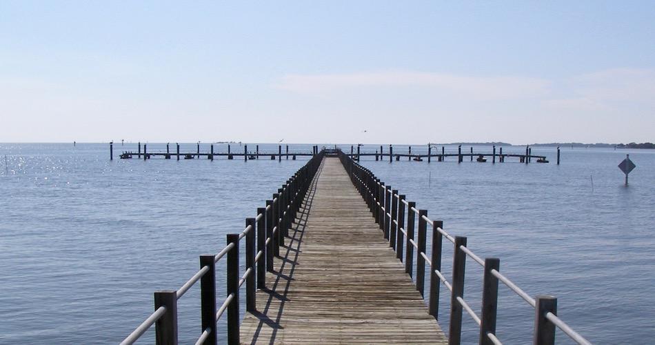 Dock at Atsena Otie Key