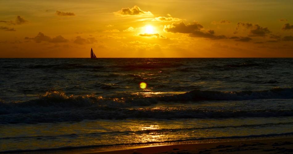 Sunset on Naples, Florida