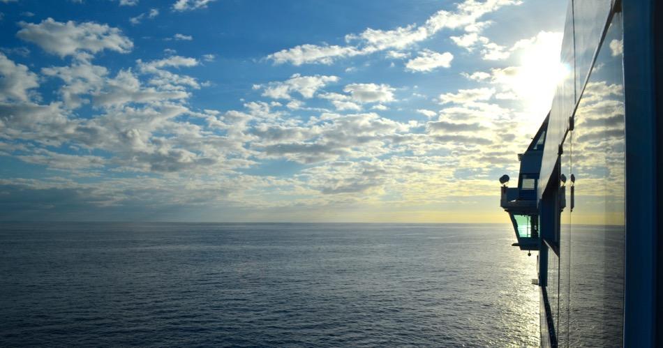 The Norwegian Pearl in the Caribbean