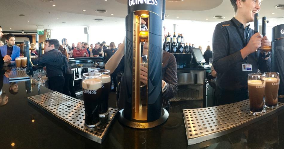 Guinness Storehouse Top Bar