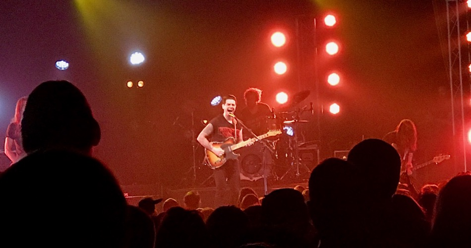 Dashboard Confessional Concert