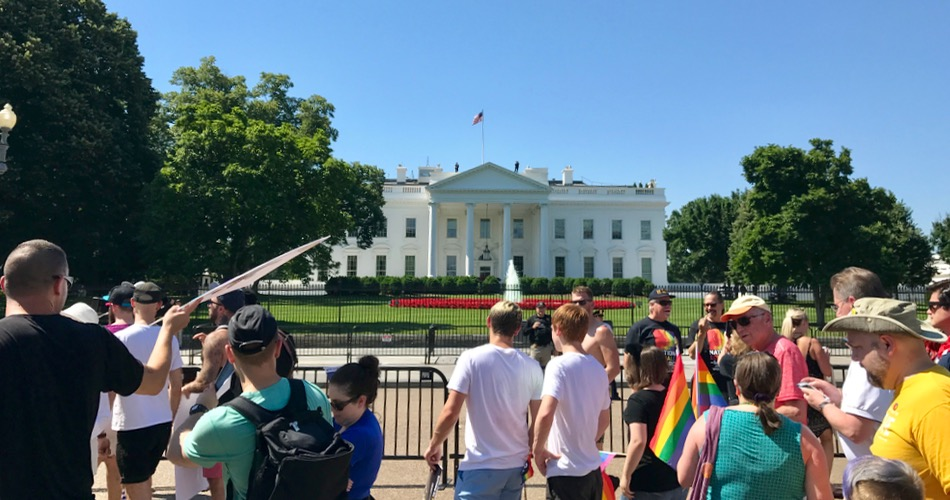 Equality March at the White House