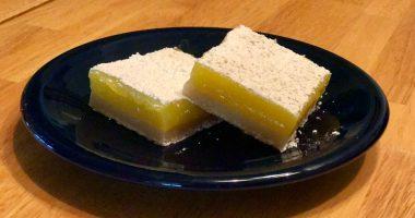 Olive Oil Sea Salt Lemon Bars