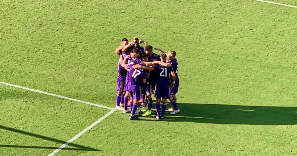 Orlando City Celebrates Goal