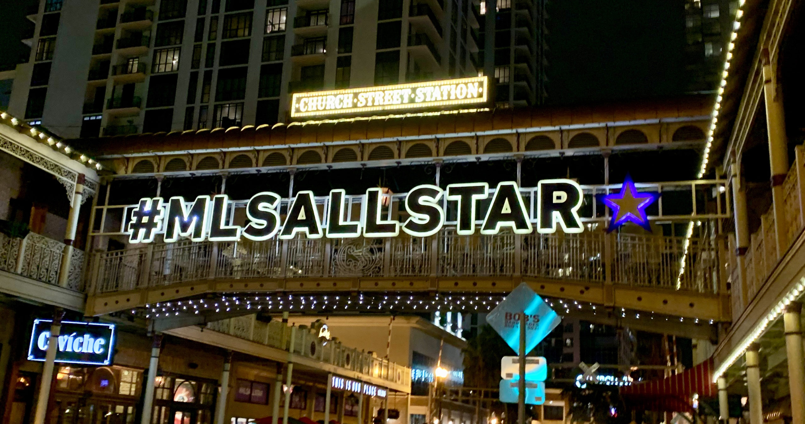 MLS All Star Game, Church Street